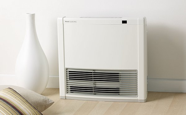 Rinnai Capella 18 Plus Convector Small Gas Heater. Suitable for small rooms.